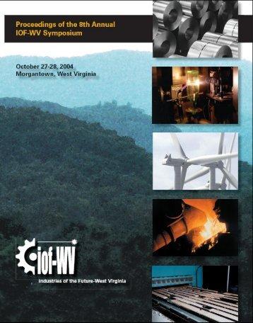 Proceedings of the 2004 IOF-WV Symposium - Industries of the ...