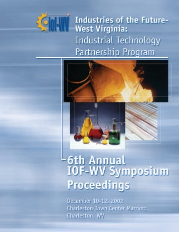 Proceedings of the 2002 IOF-WV Symposium - Industries of the ...