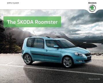 The ÅKODA Roomster - John Mulholland Motor Group