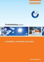Produktkatalog 2009/2010 schweißen, schneiden ... - ARNEZEDER