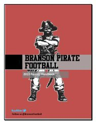 Parent Handbook - Branson Public Schools