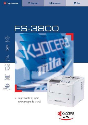 FS-3800 - KYOCERA Document Solutions
