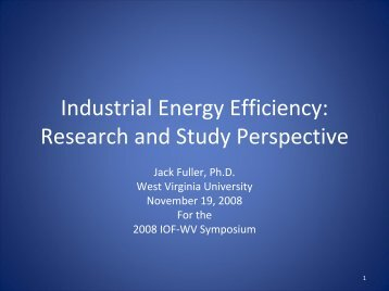 Research and Study Perspective - Industries of the Future - West ...