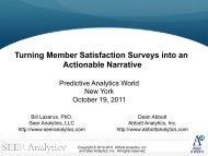 Abbott Analytics, Inc. - Predictive Analytics World