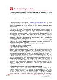 Comunicazione periodica somministrazione: le sanzioni in caso di