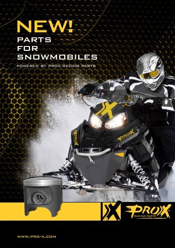 Snowmobile brochure - Pro-X Racing Parts