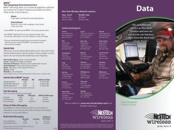 Data - Nex-Tech Wireless