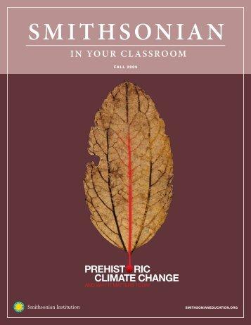 Prehistoric Climate Change - Smithsonian Education