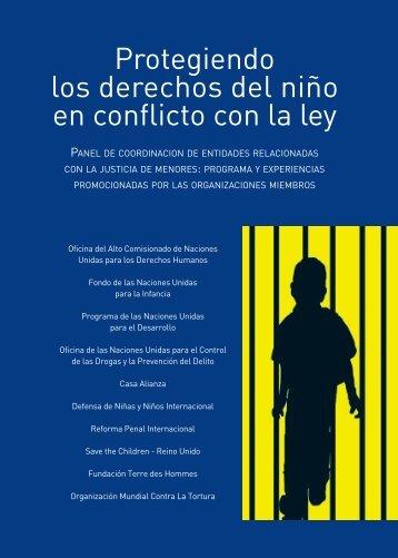 Protegiendo los derechos del niño en conflicto con la ley