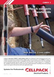 CHMSV 3 Flyer - Cellpack Electrical Products