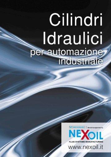 """Brochure Cilindri Idraulici """"Nexoil"""" - Air Bonaita"""