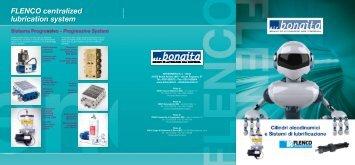 Progressive System FLENCO centralized lubrication ... - Air Bonaita