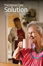 The Home Care Solution Guide - Senior Care Guide - Home Instead ...