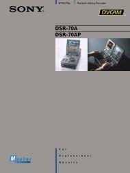 DSR-70A DSR-70AP