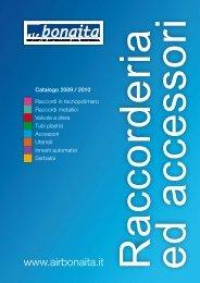 Catalogo Raccorderia ed Accessori - Air Bonaita