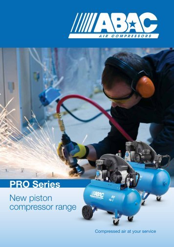 ABAC Piston Compressors - Blue Line Pro - Maziak Compressor ...