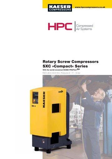 Rotary Screw Compressors SXC »Compact« Series - Maziak ...