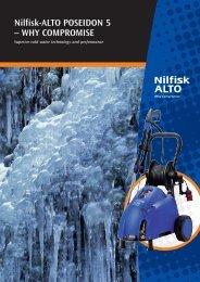 Nilfisk-ALTO POSEIDON 5 – WHY COMPROMISE