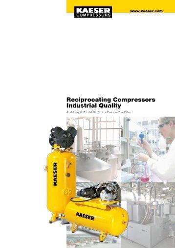 Kaeser Industrial Piston Compressors - Maziak Compressor Services