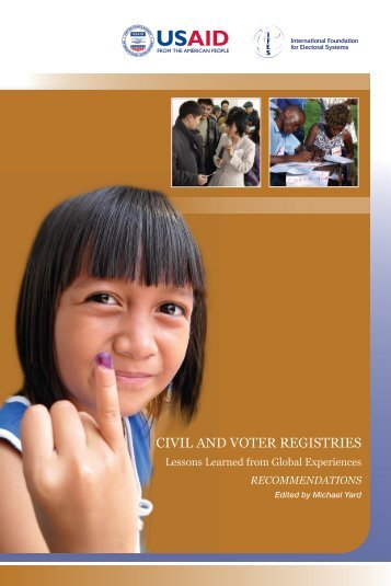 Civil and Voter Registries Recommendations - IFES