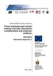 Power exchange spot market trading in Europe ... - Oscogen