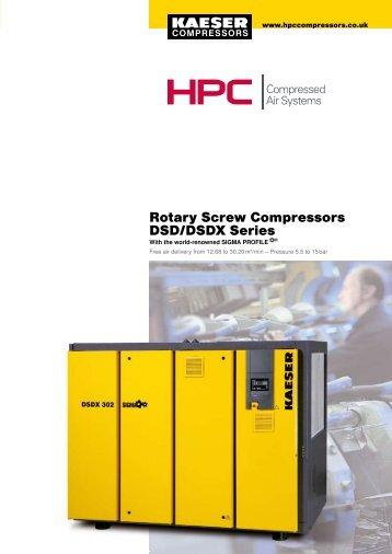 DSD-DSDX Series - Maziak Compressor Services
