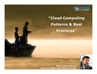 """Cloud Computing Patterns & Best Practices"""