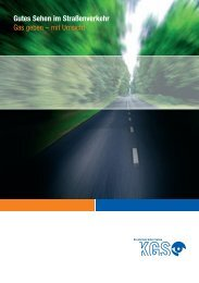 Gutes Sehen im Straßenverkehr - Kuratorium Gutes Sehen eV