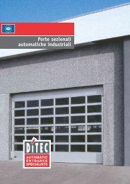 Porte sezionali automatiche industriali - SIDS Impianti