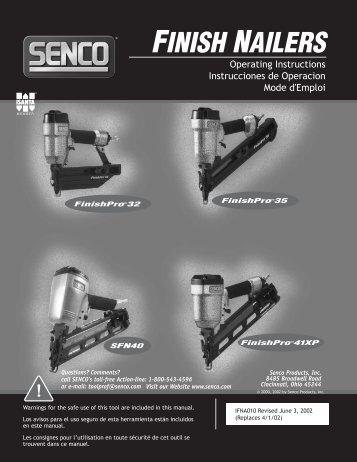 IFNA010 / Finish Nailers - Senco