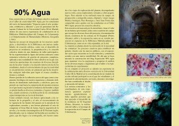 Tríptico - Aula de las Artes