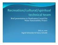presentation - Water Resources Center