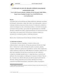 A colaboração em cursos de educação a distância ... - cinted/ufrgs
