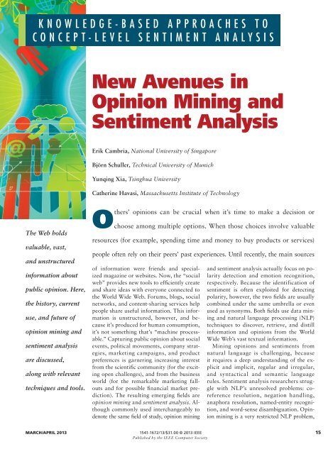 new-avenues-in-opinion-mining-and-sentiment-analysis