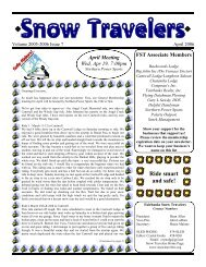 Ride smart and safe! - Fairbanks Snow Travelers