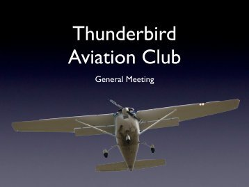 General Meeting - My Thunderbird