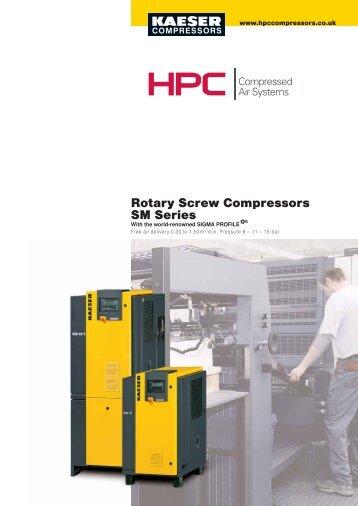 Rotary Screw Compressors SM Series - Maziak Compressor Services