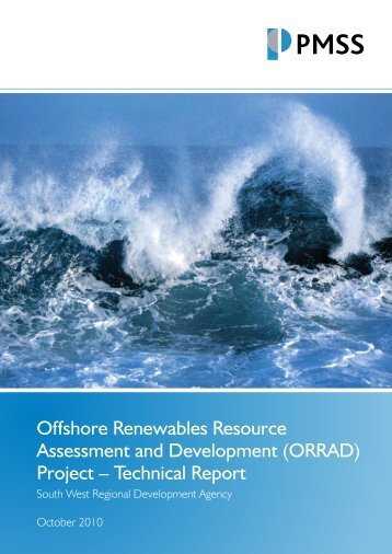 Offshore Renewables Resource Assessment and ... - Wave Hub