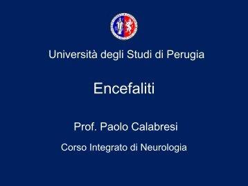 Diapositiva 1 - Università degli Studi di Perugia