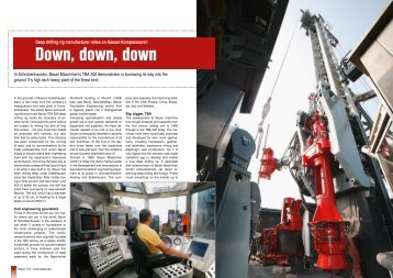 Deep drilling rig manufacturer relies on Kaeser-Kompressoren