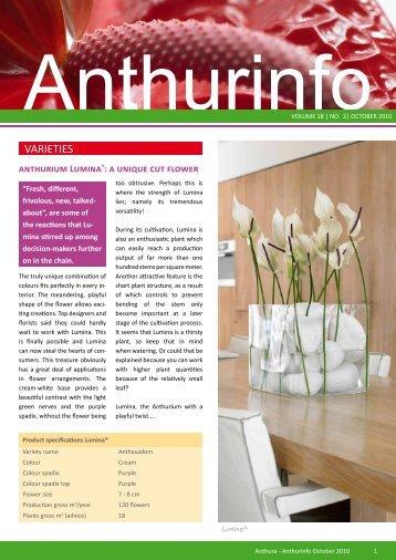 Number 2, 2010 - Anthura