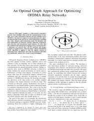 An Optimal Graph Approach for Optimizing OFDMA Relay Networks
