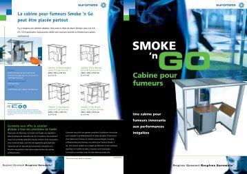 SMOKE 'n Cabine pour fumeurs Une cabine pour fumeurs innovante ...