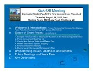 Stormwater Master Plan for the Nine Springs ... - City of Fitchburg