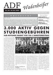 Wadenbeißer Nr. 60 vom 06.06.2005 [PDF] - ADF ...