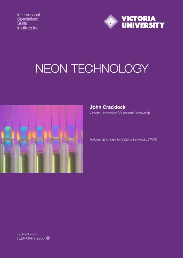 NEON TECHNOLOGY - International Specialised Skills Institute