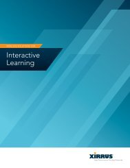 Interactive Learning Solutions Brief - Xirrus