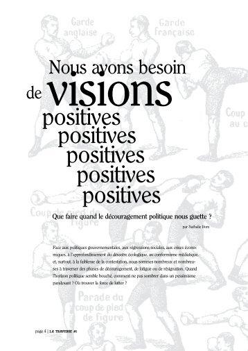 (La Traverse #1) PDF a4 - Les renseignements généreux