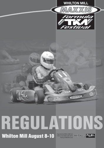 Maxxis Formula TKM Festival Regulations & Entry Form - Tal-Ko