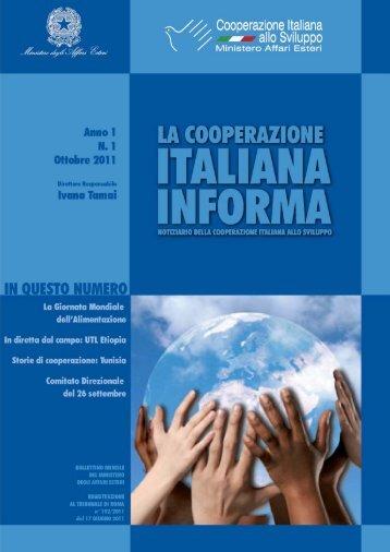 Scarica il documento - Cooperazione Italiana allo Sviluppo
